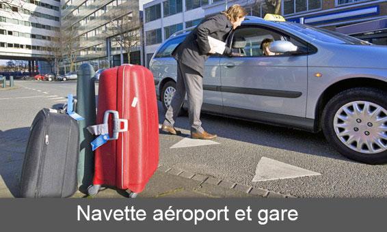 Navette aéroport et gare