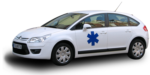 Transport taxi ambulance