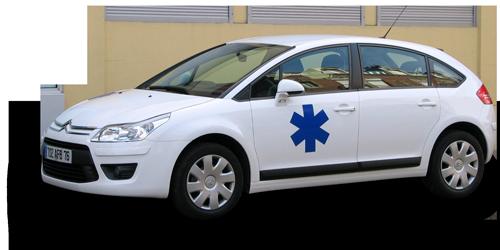 Transport taxi ambulance